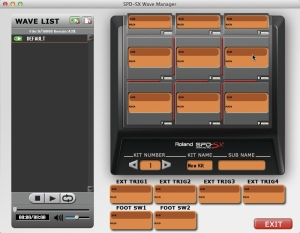 Roland Wave Manager