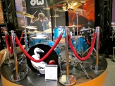 DW Drums Dave Grohl touring set