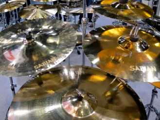 Sabian Paragon cymbals
